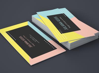Business Card _ Fashion Designer