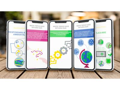 Uniasselvi Mobile App - E-learning Layout