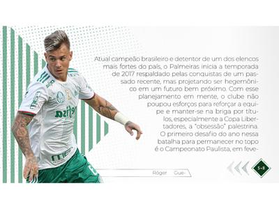 Digital Magazine for Palmeiras Soccer Team