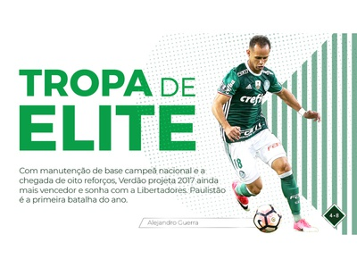 Cover for Digital Magazine _ Palmeiras Football Club