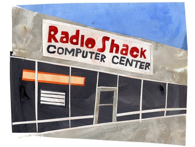 radioshack paper art illustrator cutpaper illustrations illustration art collage maker collage collageart cutout illustration radioshack