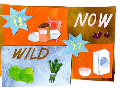now design branding paper art illustrator cutpaper cutout illustrations illustration art collageart illustration