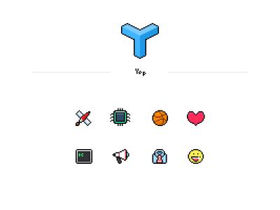 icons for Yep icon pixelart