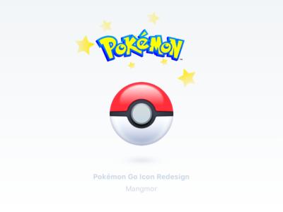 Pokémon Go Icon Redesign ui redesign icon pokémon go pokémon