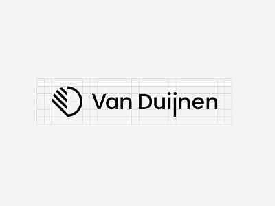 Logo Van Duijnen Build logo design