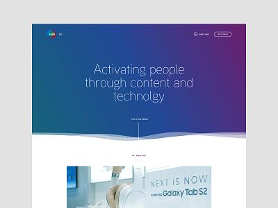 Quince 1/3 webdesign interaction design digital design ui branding