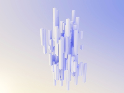 Columns — lighting & material study study lighting material cinema 4d
