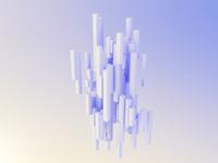 Columns — lighting & material study