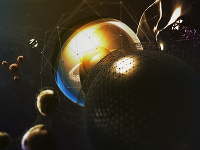 Nanocosm spheres learnsquared cinema 4d