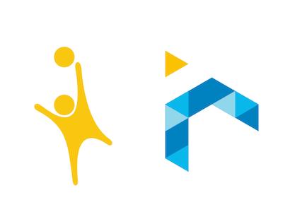 Volleybal team logo redesign logo volleybal