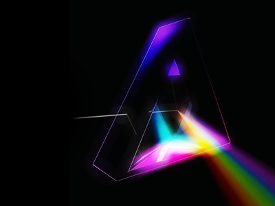 Daft Floyd 3d delta spectrum rainbow prism