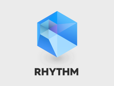 Rhythm icon tesseract