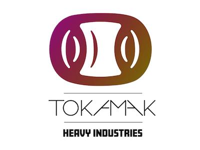 Tokamak Heavy Industries practice reactor fusion concept logo