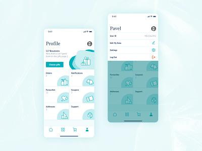 Daily UI #006 | User Profile pastel colors interface mobile app design figmadesign figma mobile app app design dailyuichallenge daily ui challenge daily ui dailyui