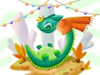 I am a little green dragon