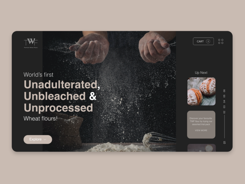 Daily UI :: 003 (Landing page) minimal adobe xd application app design ecommerce app daily ui dark mode dark ui ux design ux ui design ui  ux ui website design website web typography negative space logo design