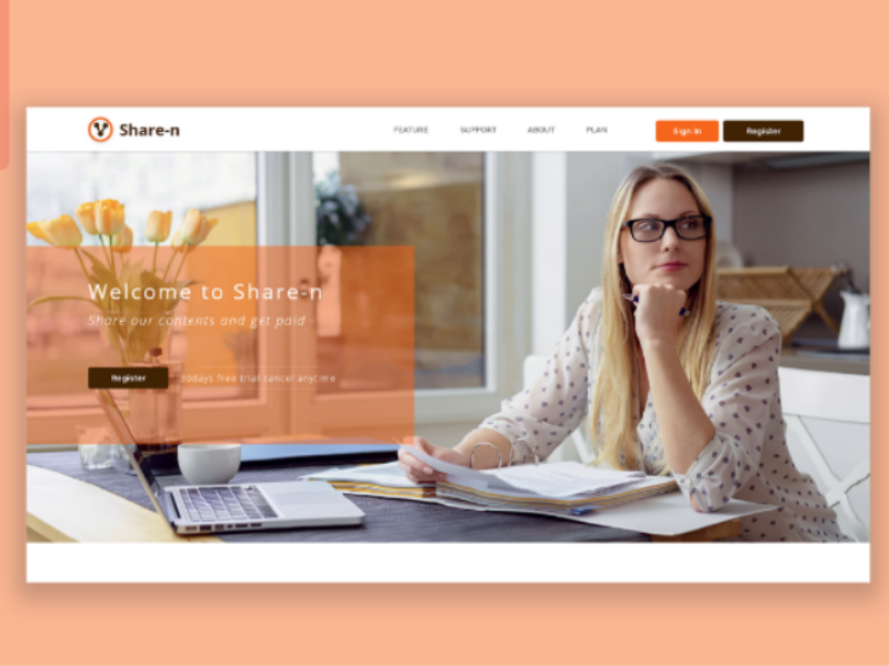 Share-n project small business firm corporate insurance business webdesign