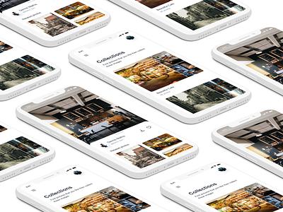 Find Pictures App - App Concept app concept ui ux