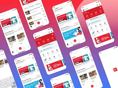 Linkaja Mobile Apps apps design mobile ui google store appstore app mobile design ui
