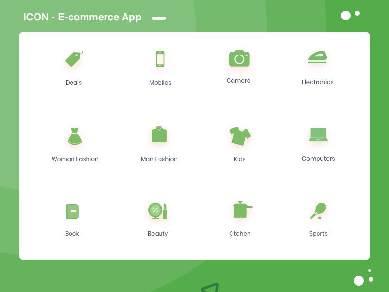 Icons E Commerce App icon