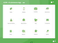 Icons E Commerce App