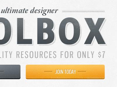 Tagline (new design) grunge dirty texture textures tagline retro 3d button buttons orange grey text type