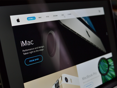 Apple Store re-design WIP