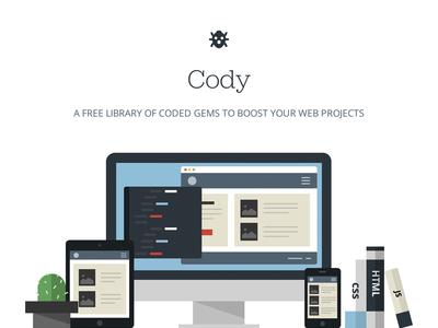 Cody Landing Page