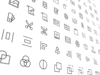 Nucleo - Design & Development nucleo design development icon scissor book align