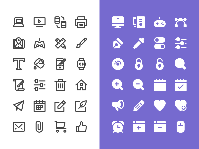 Nucleo - Free Test Pack free freebie icon icons outline glyph