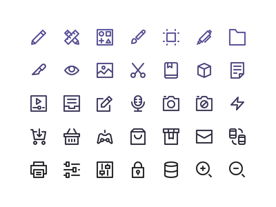 Nucleo Test Pack (Updated) svg ai vector ui freebie free icons icon nucleo