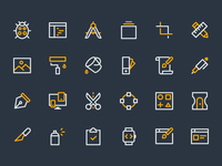 Design & Dev Icons