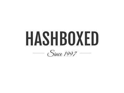 Hashboxed new logo personal logo hashboxed