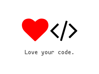 Love your Code manifest love your code love