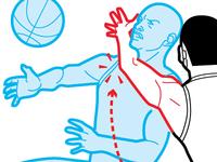 Basketball clothesline