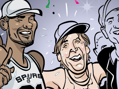 WIP comic for SportsNet mag