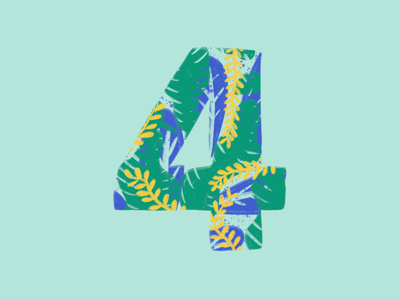 36 Days of Type, day 31: 4