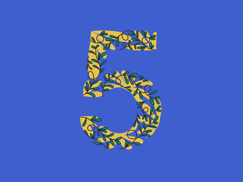 36 Days of Type, day 32: 5