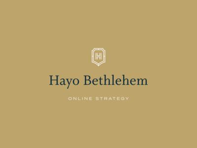 Branding for Hayo Bethlehem graphic design minimal clean brand identity logos logodesign rebranding branding logo