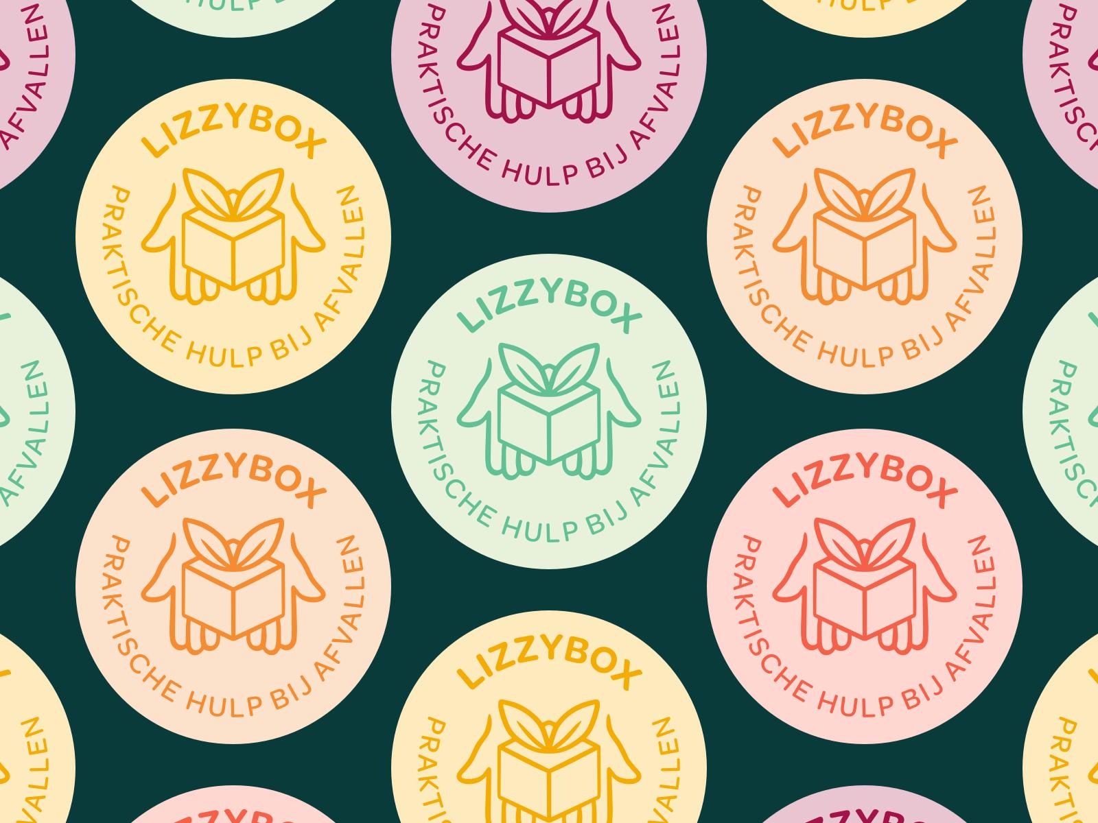 Lizzybox Branding: Logo badge