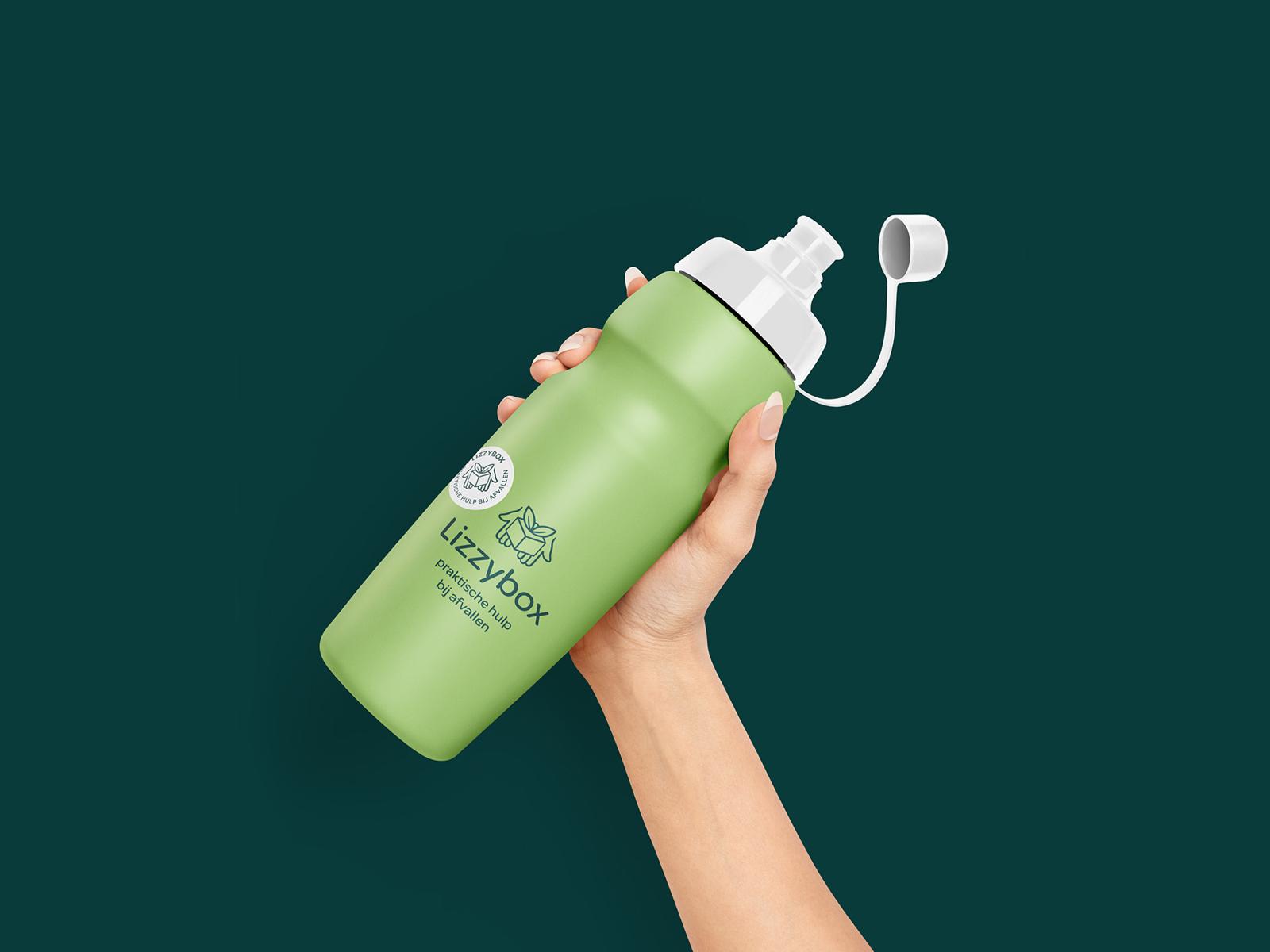 Lizzybox Branding: Sports bottle