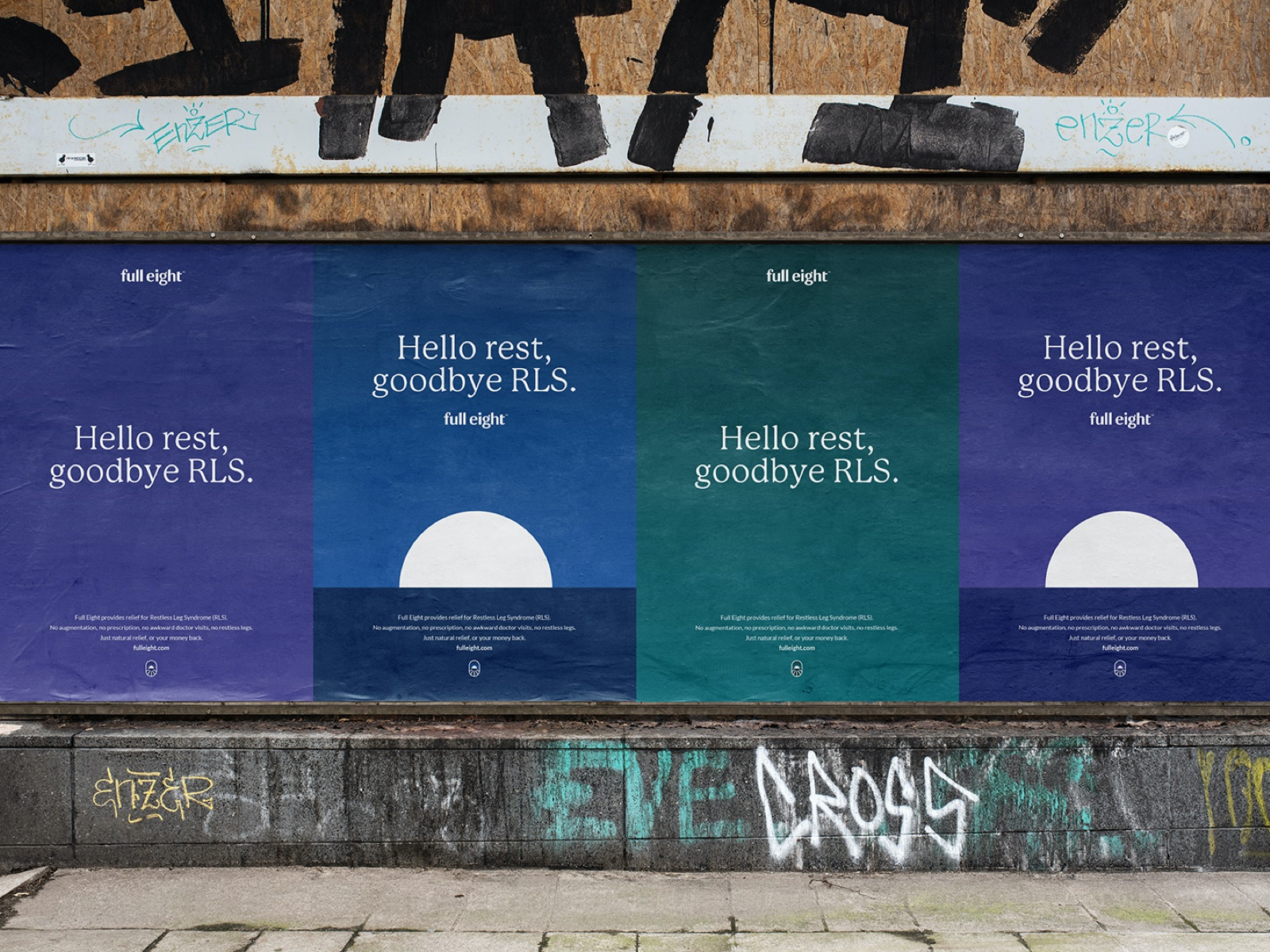FullEight visual identity: Brand concept