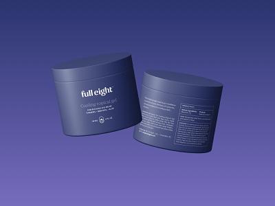 FullEight visual identity: Packaging packagingdesign packaging clean logodesign branding rls sleep purple haelsum fulleight full eight brand identity brand design logo