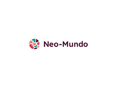 Neo-Mundo branding: Logo logo designer neo-mundo brand identity brand designer healthcare logo brand branding