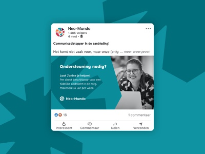 Neo-Mundo branding: Social Media Templates linkedin canva social media template healthcare social media brand identity logo designer brand designer branding neo-mundo