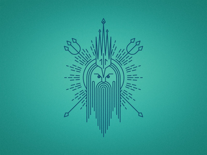 Neptune by Jantine Zandbergen on Dribbble