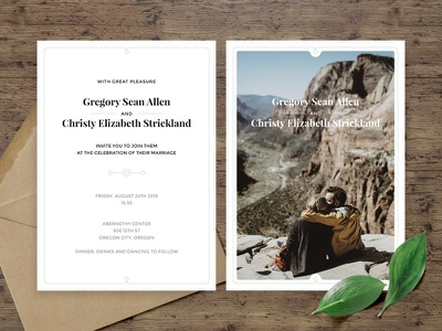 Clean Wedding Invitation Suite love wedding invitation minimalistic clean graphic design invitation wedding