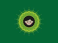 Doodle: Avocado girl