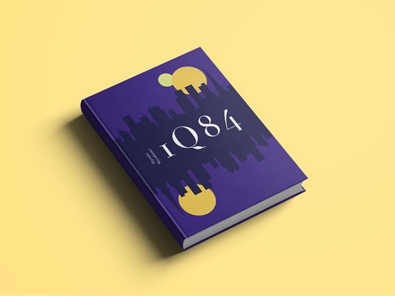 1Q84 vector tokyo murakami 1q84 book cover book