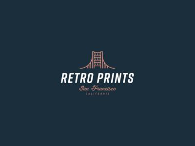 30 Day Logo Challenge X - Retro Prints